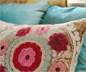 Feng Shui Colors: inspiration in fabric